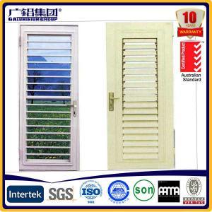 Buy cheap aluminium and glass window shutter blades product