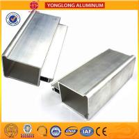 Buy cheap Low Pollution Machined Aluminium Tube Profiles , Standard Bendable Aluminium Spacer Bar product