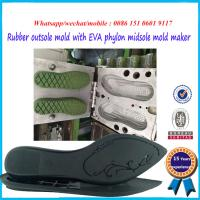 China Rust Proof Rubber Shoe Mold Durable EVA Mould Easy To Operate on sale