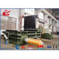 China Heavy Duty Copper Tubes Stainless Steel Pipes Scrap Metal Compactor Baling Press 74kW on sale