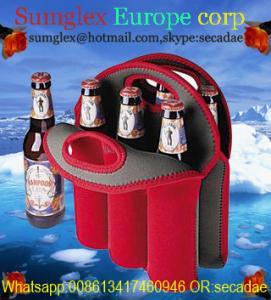 Buy cheap neoprene 6 pack bottle carrier product