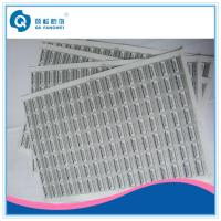 Buy cheap Destructible Security Sealing A4 Self Adhesive Labels For Wine Packaging product