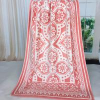 Buy cheap Custom Brand Best&Less Canada Woven Jacquard Beach Towels for Promotion Shop product