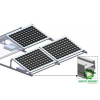 China Ballast Free Penetration Free Flat Roof Mounting System With Light Quick And Innovative on sale
