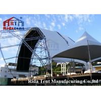 Buy cheap Lightweight Aluminum Truss System , Mental Triangle Ladder Truss For Church product