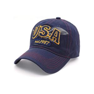 Buy cheap Customize Six Panels Embroidered Baseball Caps 54Cm For Kids product