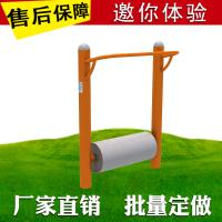 Buy cheap Soft Covering PVC Workout Playground Equipment Pull Up Bar Single Double Roller product