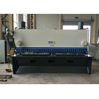 Buy cheap Stable Metal Cutting Shears / DELEM CNC Control Guillotine Steel Cutter product