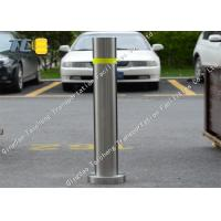 Buy cheap Cast Iron Steel Fixed Post Removable Traffic Bollards Anti Rust Sliver product