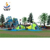 Buy cheap Outdoor Custom Playground Slides , Large Playground Equipment Slides product