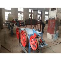 Buy cheap Hot Galvanized Iron Wire PVC Coated Machine for Hexagonal Wire Netting product