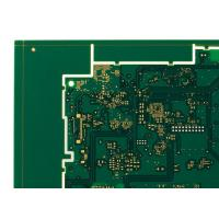 Buy cheap 6 Layers HDI Printed Circuit Boards Green 1oz Copper ENIG PCB product