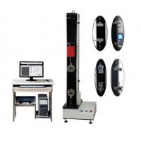 Buy cheap Mechanical Rubber Tensile And Compressive Test Machine 5KN Ball Screw Drive product