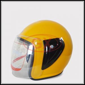 Motorcycle Accessory Helmet Half Helmet Colorful Scooter Helmet PP material shell high density of white foam buffer laye