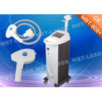 MBT - 808 + Diode Laser Hair Removal Machine 2500W 12 * 12mm2 Warranty 2 Years
