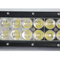 Buy cheap 36W / 60W Vehicle Off Road LED Light Bar With Epistar Chips 12v / 24v 7.5Inch 12LED product