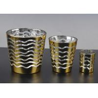 Buy cheap Short Jar Candle Holders For Tea Lights , Glass Tea Candle Holders product