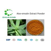 Buy cheap Nature Botanical Powder / Aloe Emodin Extract Cas 481 72 1 Promote Blood Circulation product
