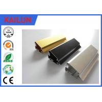 Buy cheap Aluminium Led Extrusion , Black Anodized Aluminium Advertising Frames ISO / TS16949:2009 product