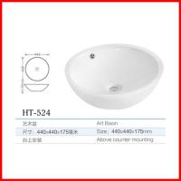 Quality zuzu ceramic countertops bathroom wash basin all sanitary items for sale