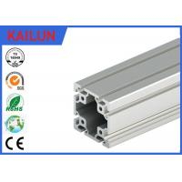 Buy cheap 40 X 40 MM T Slot Aluminum Extrusion Rails Square Hollow OEM ISO / TS16949:2009 product