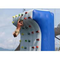 China Crazy Artificial Blow Up Rock Climbing Wall Inflatable Rock Climbing Wall on sale