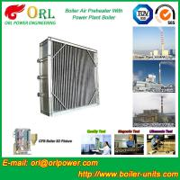Buy cheap Water Proof Plate Air Preheater In Boiler , Combustion Air Preheater Hot Water product