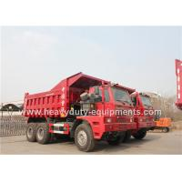 Buy cheap Offroad Mining Dump Trucks / Howo 70 tons Mine Dump Truck with Mining Tyres product