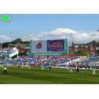 Buy cheap High Brightness Digital Sport Live Led Stadium Display With Soft Protected Mask from wholesalers