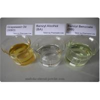 Quality Legal Injectable Steroids Benzyl Alcohol BA Benzyl Benzoate BB Grapeseed Oil for sale