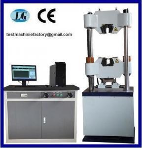 Buy cheap WEW-300B Computer Screen Hydraulic Universal Testing Machine product