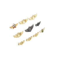 Buy cheap Zinc Alloy Aviation Air Force Pilot Badge Brooch with Gold Plating product