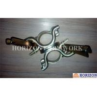Buy cheap Self Colour Scaffolding Accessories ,  Double Swivel Coupler Easy Operation product