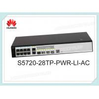 Buy cheap S5720S-12TP-PWR-LI-AC Huawei Switch 8 x 10/100/1000 PoE+Pports,2 Gig SFP ,124W PoE AC 110/220V product