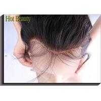 China Wholesale Lace Frontal Ear to Ear 100% Human Straight Hair Extension on sale