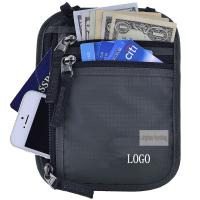 Buy cheap Anti Theft Waterproof RFID Concealed Travel Bag With Passport Holder product