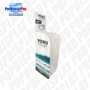 Buy cheap Single Wall 32 ECT B Flute Paper Retail Dump Bins Cardboard For Promoting FUJI Purified Water product