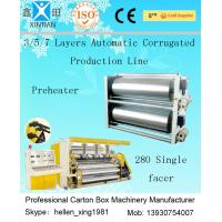 Buy cheap High Speed 3 / 5 / 7 Ply Corrugated Carton Packing Machine With Steam Heating System product