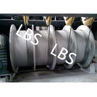 Buy cheap Wire Rope Electric Windlass Winch For Building / Construction Wipe Wall Crane product