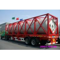 Buy cheap High Strength Stainless Steel 40ft ISO Liquid Tank Container For Chemical Shipping product