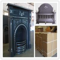 Buy cheap price for cast iron indoor fireplace product