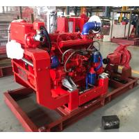 Buy cheap UL / FM non-listed Split Case Pump Capacity 750 m3/h @ 105m Diesel Engine product
