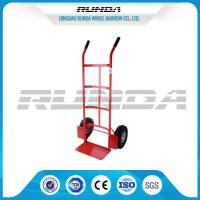 Buy cheap Double Pneumatic Wheel Heavy Duty Hand Cart 130kg Max Payload Pneumatic Tyres product