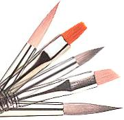 Quality New nail art brush set, best oil painting brush,12pcs per set bristle brush for sale