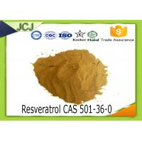 Buy cheap Pharmaceutical Medicine Raw Material Resveratrol CAS 501-36-0 for Anti - aging product