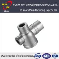 Buy cheap CF8M / SUS 304 / AISI 304 Stainless Steel Tube Fittings , Stainless Steel Pipe Elbows product