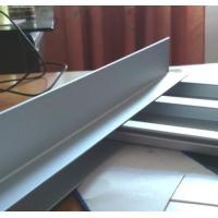 Quality Construction Extrusions Waterproof Aluminum Decking , Aluminium Skirting Profiles for sale