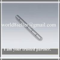 Buy cheap Rare earth strong sintered ndfeb round,Ring,disc,cylinder,rod ,bar high quality motor indu product