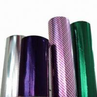 China Metallic wrapping papers, customized colors and thickness are accepted on sale