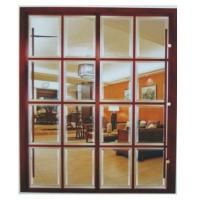 Buy cheap Heavy Duty Partition Sliding Doors For Bedroom, Office Custom Glass Metal Room Dividers product